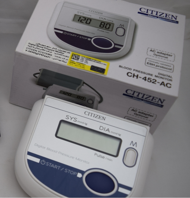 فشار سنج بازویی CITIZEN مدل CH-452-AC