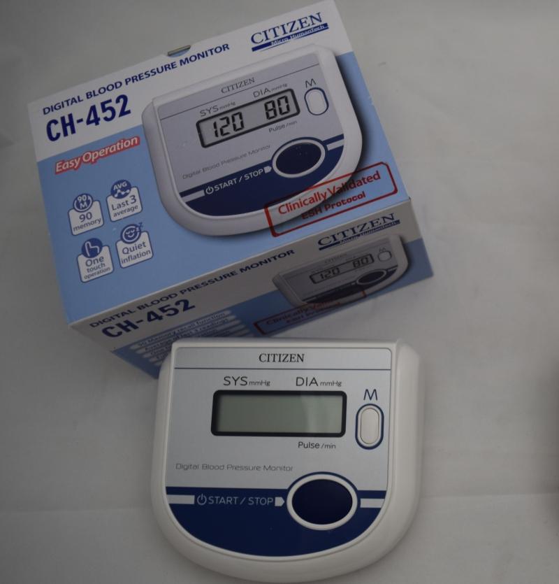 فشار سنج بازویی CITIZEN مدل CH-452