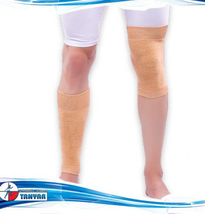 ساق بند زانو بند حوله ای